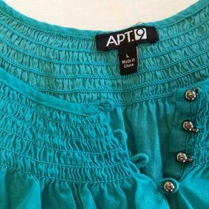 Apt 9 torquois blouse
